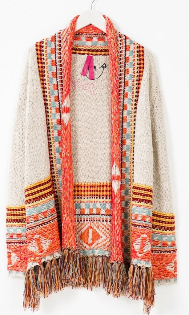 Desigual ISLA CARDIGAN. Was $199.95. Now $140. Fall-Winter 2015.