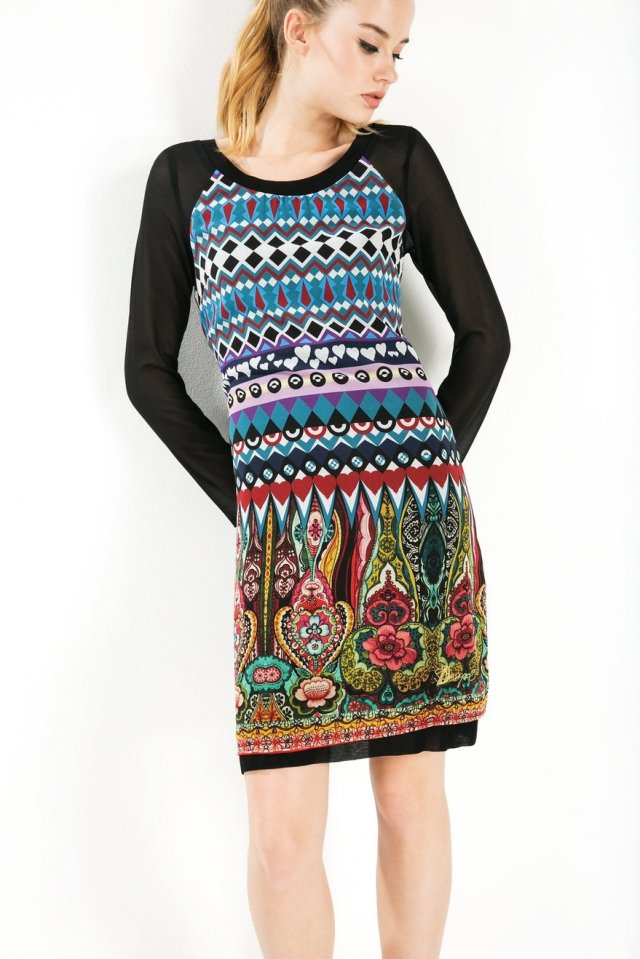 Desigual DAMI dress. $149.95. Fall-Winter 2015.