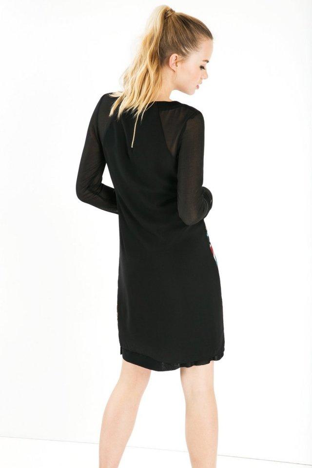Back of Desigual DAMI dress. $149.95. Fall-Winter 2015.