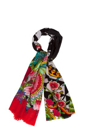 Desigual JACKY scarf. $75.95. Fall-Winter 2015.
