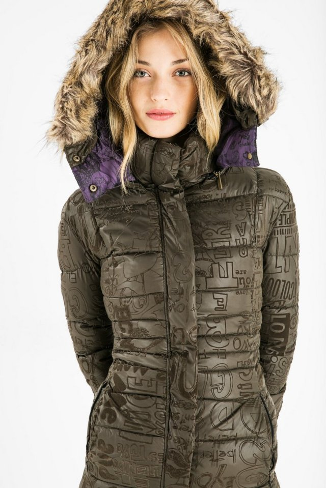 Desigual SHAILA winter coat. $264.95. Fall-Winter 2015.
