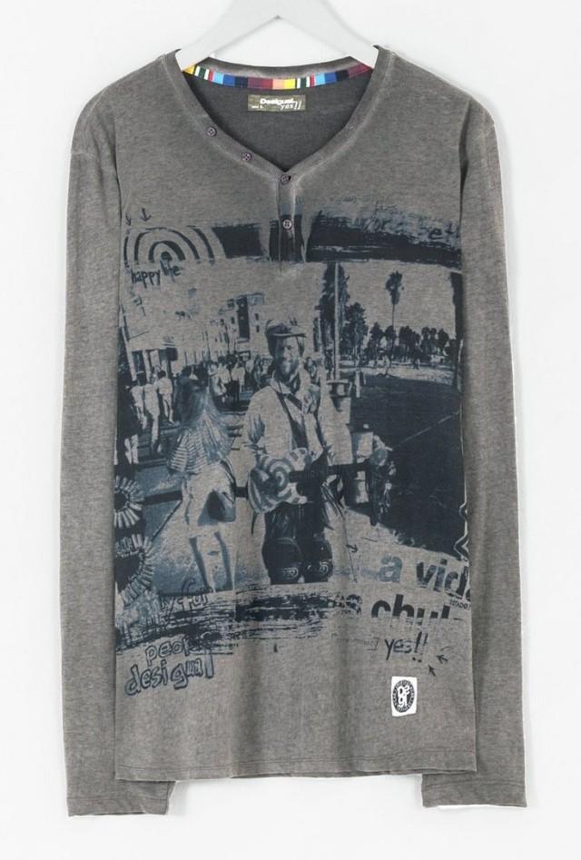 Desigual.VENICE.Tshirt.man.$89.95.FW2015