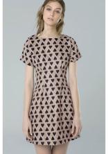 Compañía Fantástica HANTS dress, $78, with small heart pattern. Fall-Winter 2015