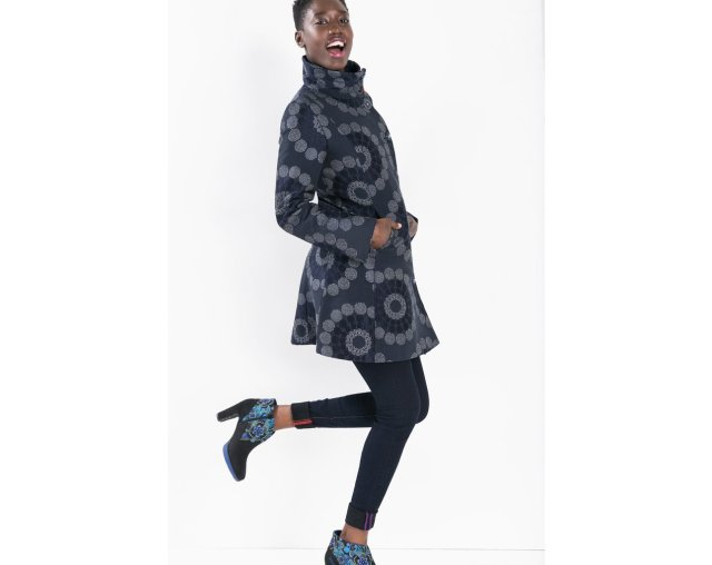 Desigual EMY-LEE coat. $309. Fall-Winter 2015.