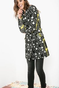 Desigual SWEET EMOTION winter coat by Christian Lacroix. Regularly $369.95, now on sale at 20% off.