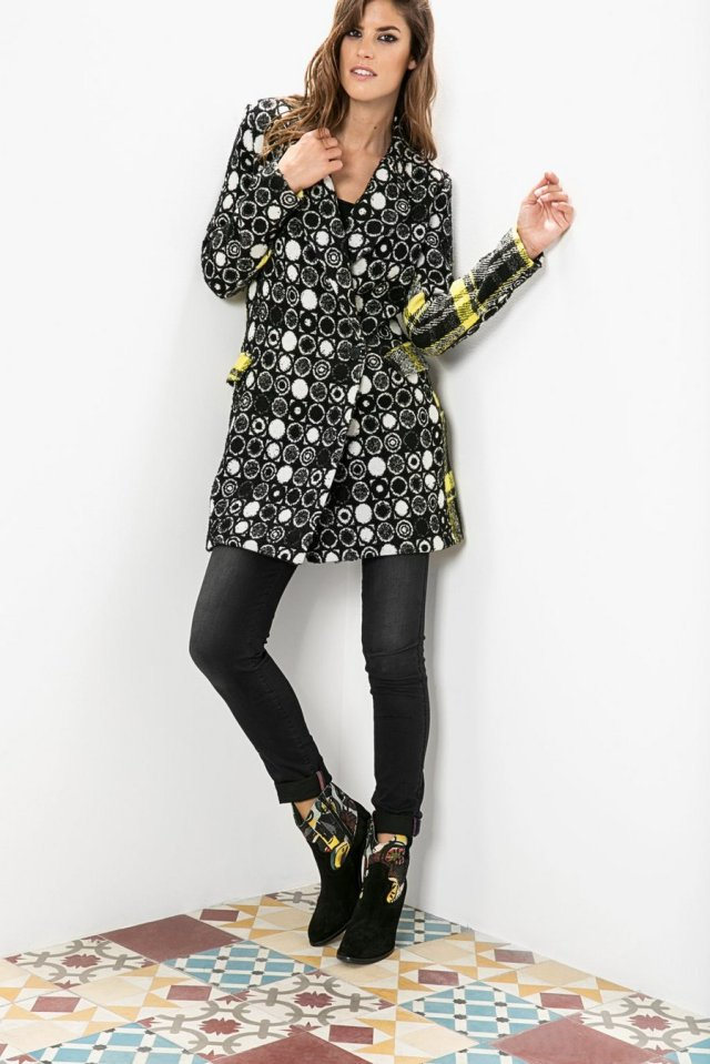 Desigual SWEET EMOTION coat by Christian Lacroix. $365.95.