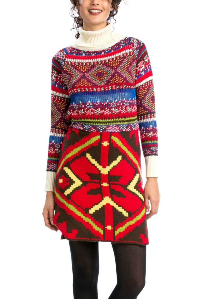 Desigual CALANDRA knit dress by Christian Lacroix. Was $179.95. Now $125 (30% off).