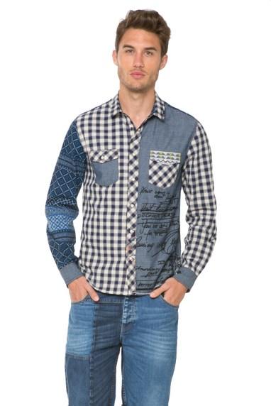 Desigual LUIS shirt. $115.95. Spring-Summer 2016.