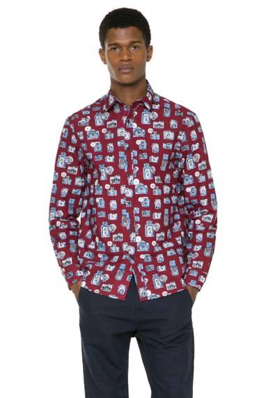 Desigual CAMARAS REP shirt. $105.95. Spring-Summer 2016.