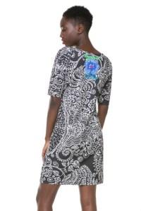 Back of Desigual CARLOTTA dress. $115.95. Spring-Summer 2016.