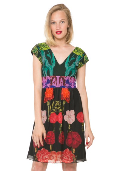 Desigual CARMEN dress by Christian Lacroix. $149.95. Spring-Summer 2016 collection.