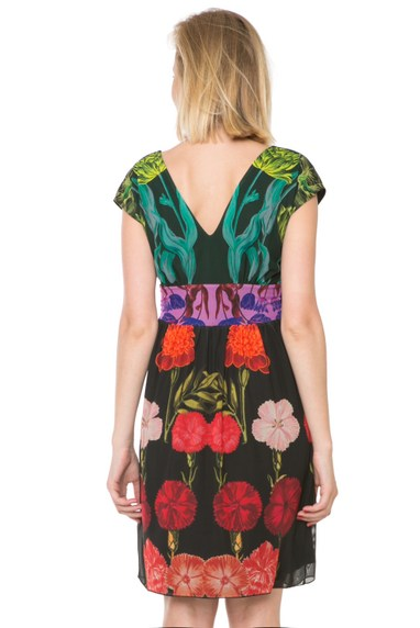 Back of Desigual CARMEN dress by Christian Lacroix. $149.95. Spring-Summer 2016.