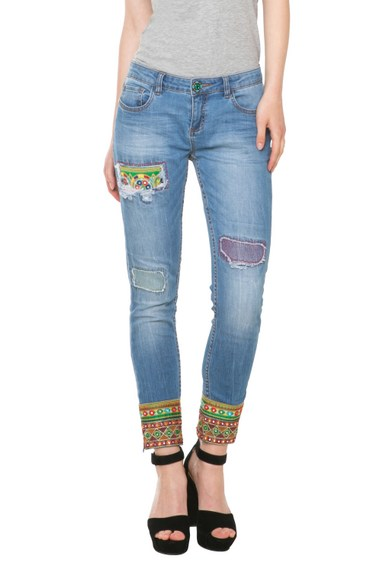 Desigual.DENIM.ETHNIC.ANKLE.$155.95.SS2016.61D26E9_5053