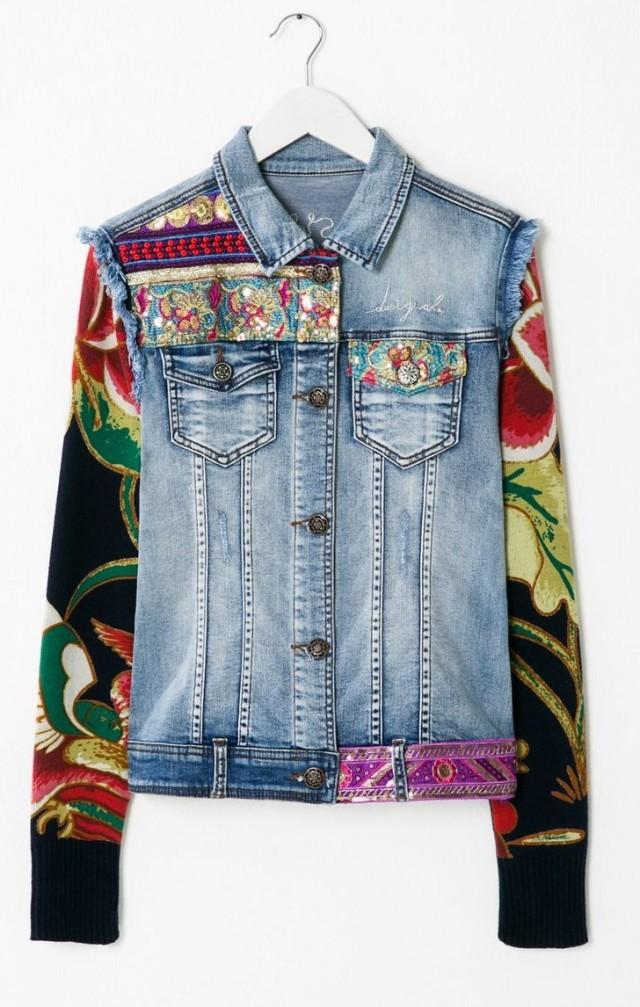 Desigual.ETHNIC.DELUXE.jean.jacket.$165.95.fw2015