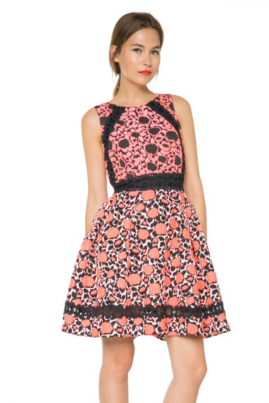 Coming soon: Desigual LILLIAN sleeveless dress by Lacroix. $295.95. Spring-Summer 2016.