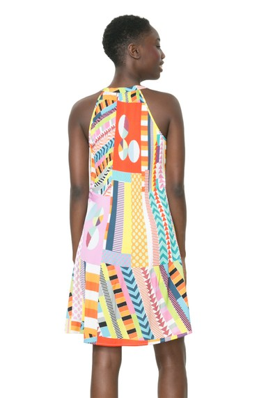 Coming soon: Desigual MARIA dress by Lacroix. $189.95. Spring-Summer 2016.