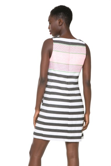 Coming soon: Desigual PODIUM FEMINA dress by Lacroix. $169.95. Spring-Summer 2016.
