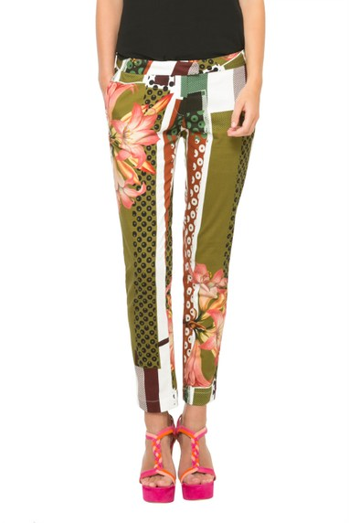 Desigual UAU pants by Christian Lacroix. .$149.95. Spring-Summer 2016.