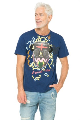 Desigual.WARRIOR.T-shirt.men.SS2016