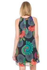 Back of Desigual AYA dress. $139.95. Spring-Summer 2016.