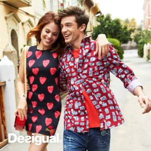 Desigual CAMARAS shirt for men. Spring-Summer 2016.