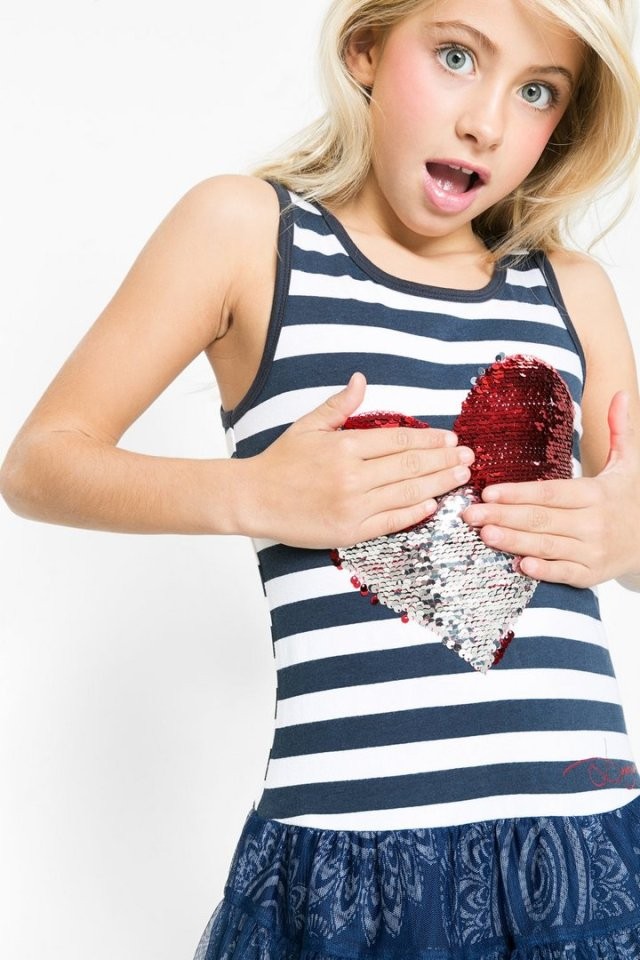 Desigual.kids.OKLAHOMA.dress.C$95.95.reversible.sequin.heart.nautical.stripes.SS2016.61V32H5_5001