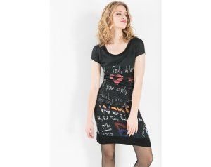 Desigual.Xelian.dress.$136.Fw2015