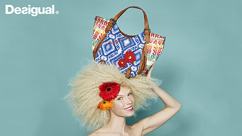 Desigual.accessories.bags.SS2016. This is a Desigual bag from Spring-Summer 2016 collection.