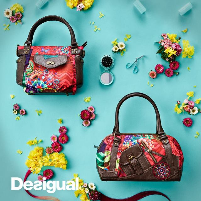 Desigual bags for Spring-Summer 2016