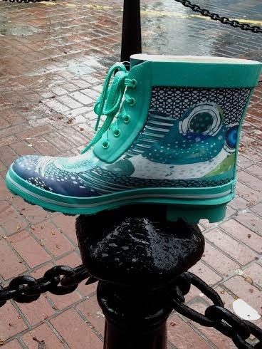 Desigual.CAiQU.rainboots.$85.95.SS2016.