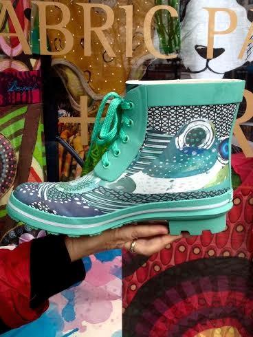Desigual CAIQU rain boots. $85.95. Spring-Summer 2016. Peackock turquoise.