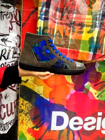 Desigual Luxor 8 rain boots from the Spring-Summer 2016 collection.