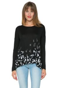 Desigual MIREIA T-shirt. $65.95. Spring-Summer 2016.