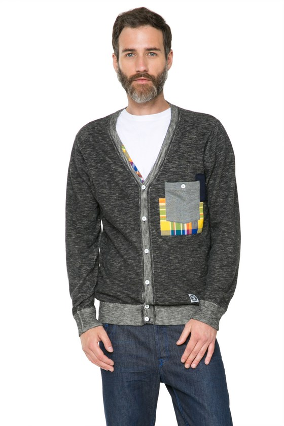 Desigual ABIGAIL cotton cardigan sweater. $155.95. Spring-Summer 2016.