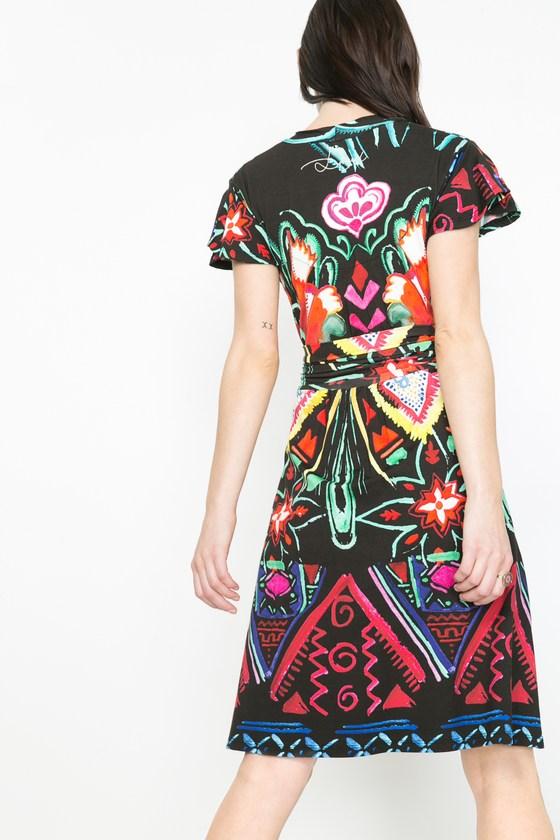 Desigual CLEOPATRA dress. $149,95. Spring-Summer 2016.Desigual CLEOPATRA dress. $149,95. Spring-Summer 2016.