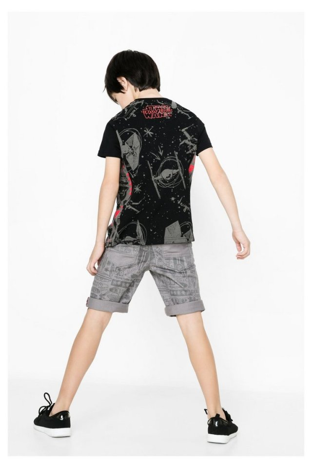 Desigual STAR WARS Creus T-shirt from Spring-Summer 2016 collection at angelvancouver.com