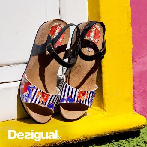 Desigual sandals Spring Summer 2016