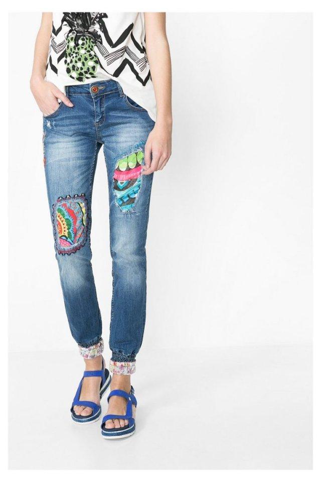 Desigual AFRICA ARROW jeans. $159.95. Spring-Summer 2016.