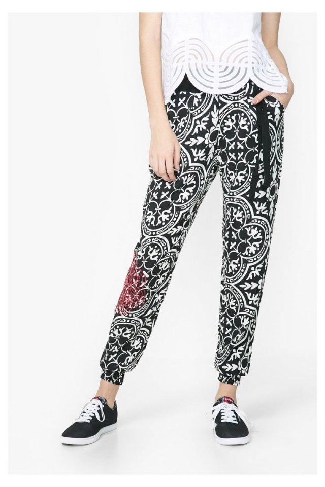 Desigual BRIGETTE pants. $159.95. Spring-Summer 2016.