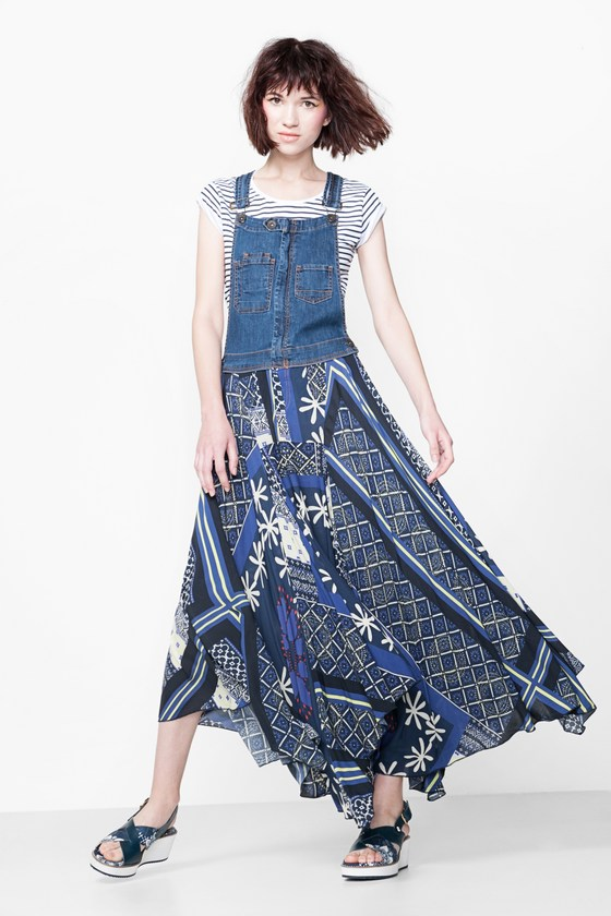 Desigual FAUSTINO maxi dress. $219.95. Spring-Summer 2016.