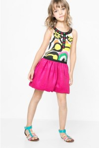 Coming soon: Desigual POMPON dress for kids designed by Christian Lacroix. $105.95. Summer 2016.