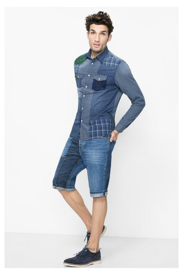 Desigual.PATCH.INDIGO.$129.95.ss2016.with.Denimpatch.shorts.61C12C0_5096