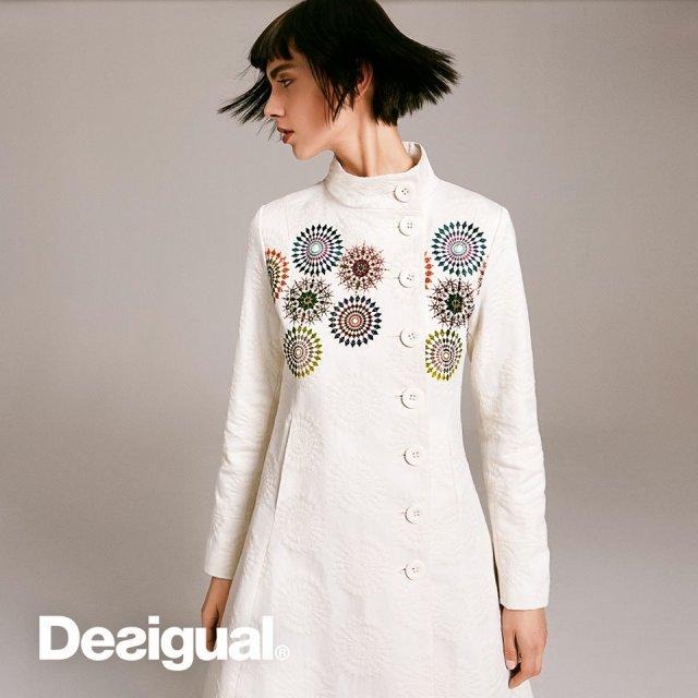 Desigual SETEN coat fpr Spring-Summer 2016.
