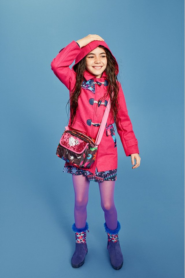 Desigual.kids.red.raincoat.FW2016.