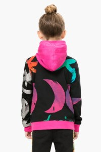 Back of Desigual CAMUS sweatshirt. $105.95.