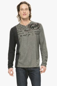Desigual.man.CONTRAST.GARABAT.Tshirt.$105.95.FW2016