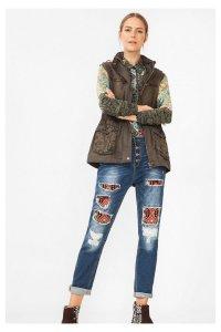 Desigual.MARIA.khaki.cotton.jacket.with.hoodie.FW2016.67E29C3_4086
