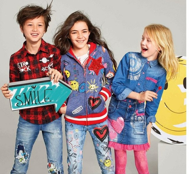 Desigual for kids: Fall-Winter 2016 collection