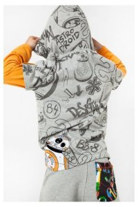 Desigual Star Wars DROID T-shirt for kids. $65.95.