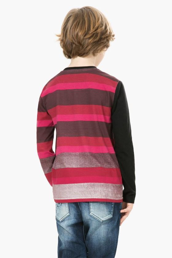 "Back of Desigual ""Robert"" Funky Monkey T-shirt for kids. Fall-Winter 2016. $65.95.-67t36c8"